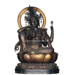 如意輪観世音菩薩坐像(御本尊)・鎌倉時代(重要文化財)