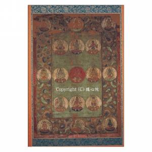 愛染曼荼羅図・鎌倉時代(重要文化財)