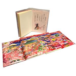 御朱印帳(極彩色) 2,000円